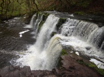 Brecon Beacons waterfall