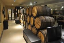 Tasting room at Penderyn Distillery
